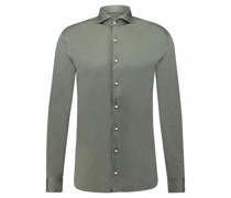 Slim-Fit Hemd aus softer Jerseyware