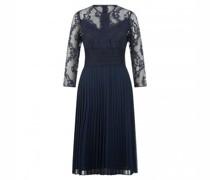 Kleid 'Kevori' aus Material-Mix