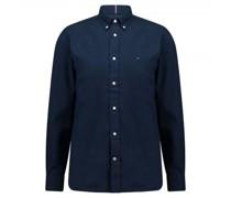 Regular-Fit Hemd aus softer Baumwolle