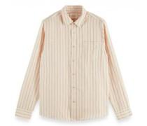 Regular-Fit Hemd mit Streifenmuster