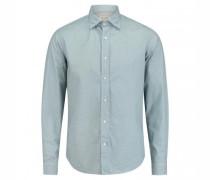 Casual-Hemd 'Minimal' mit Musterung
