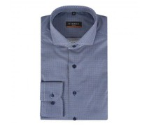 Slim-Fit Hemd mit Musterung