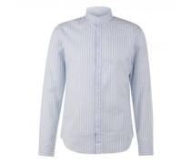 Leichtes Slim-Fit Hemd mit Streifenmuster