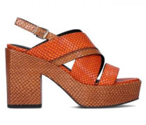 Sandalette mit Plateausohle