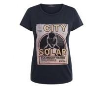 T-Shirt mit frontalem Print