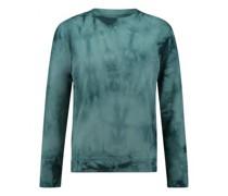 Sweatshirt mit Batik-Muster