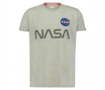 T-Shirt 'Nasa' mit Frontprint