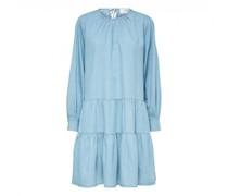 Kleid im Denim-Look