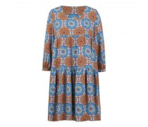A-Linienkleid mit All-Over Print