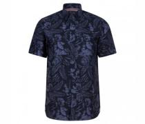 Regular-Fit Hemd mit Musterung