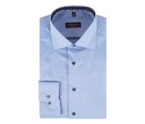 Modern-Fit Hemd mit Kentkragen