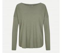 Oversize-Sweatshirt mit Cashmere-Anteil