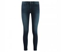 Skinny-Fit Jeans in Used-Optik