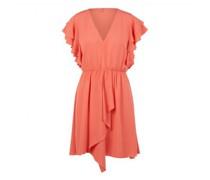 kurzes Kleid  'ABITO/DRESS' mit Rüschenärmel