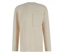 Sweatshirts in melierter Optik