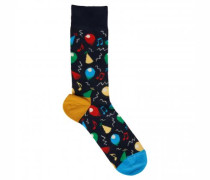 Socken mit Party-Motiven