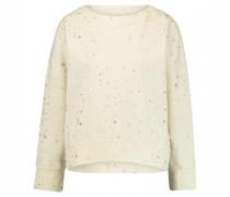 Sweatshirt mit Schimmer-Print