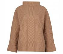 Pullover mit markantem Strick Muster