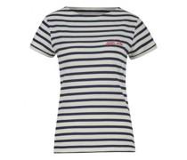 T-Shirt 'Good Vibe' aus Feinstrick