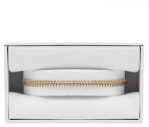 Armband 'Double Strand' mit Glitzersteinchen