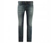 Slim-Fit Jeans 'Thommer' mit Destroyed-Details
