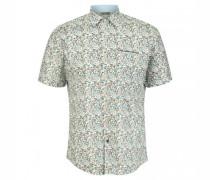 Modern-Fit Hemd mit All-Over Print