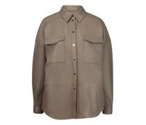 Leder-Overshirt 'Laars'