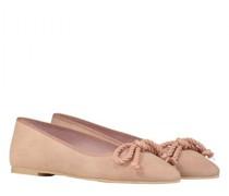 Ballerina aus Veloursleder