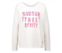 Sweatshirt 'Hudson' mit frontalem Print