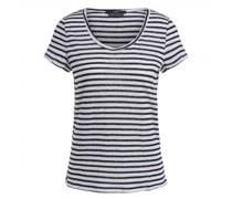 T-Shirt mit Rundhalsausschnitt aus Leinen
