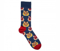 Socken mit Tiger-Motiv