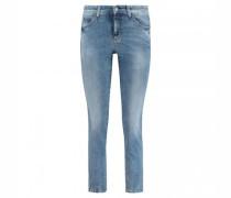 Slim-Fit Jeans 'Parla' mit Galonstreifen