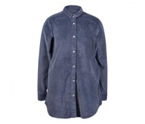 Oversized Hemd aus Breitcord