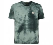 T-Shirt 'Uno' in Batik-Optik
