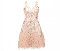 Kurzes Kleid mit Glitzereffekt