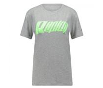 T-Shirt mit Logo Druck