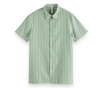 Relaxed-Fit Hemd mit All-Over Muster