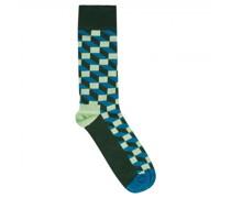 Socken mit grafischem Muster