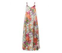 Trägerkleid mit floralem Muster