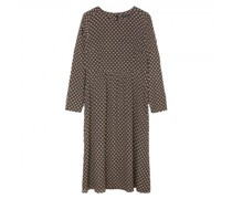 Kleid mit All-Over Muster