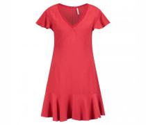 Kleid ' IREN' mit V-Ausschnitt