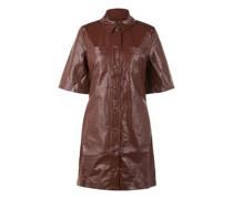 Kleid 'Myla' aus Lederoptik