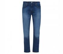 Regular-Fit Jeans aus Baumwolle