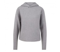 Cropped Pullover 'Puja' mit Schimmer-Finish