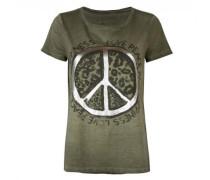 T-Shirt 'Daleni L' mit Print