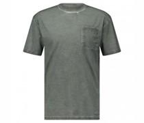 T-Shirt 'Alessio' im Used-Look