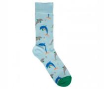 Socken mit Tier-Motiv