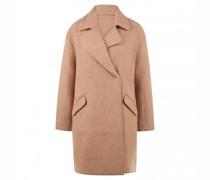 Mantel 'Halba' aus kerniger Wollmischung