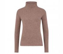 Pullover aus reiner Wolle mit Stehkragen
