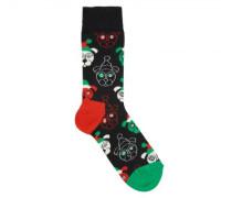 Socken 'Santa Dog'